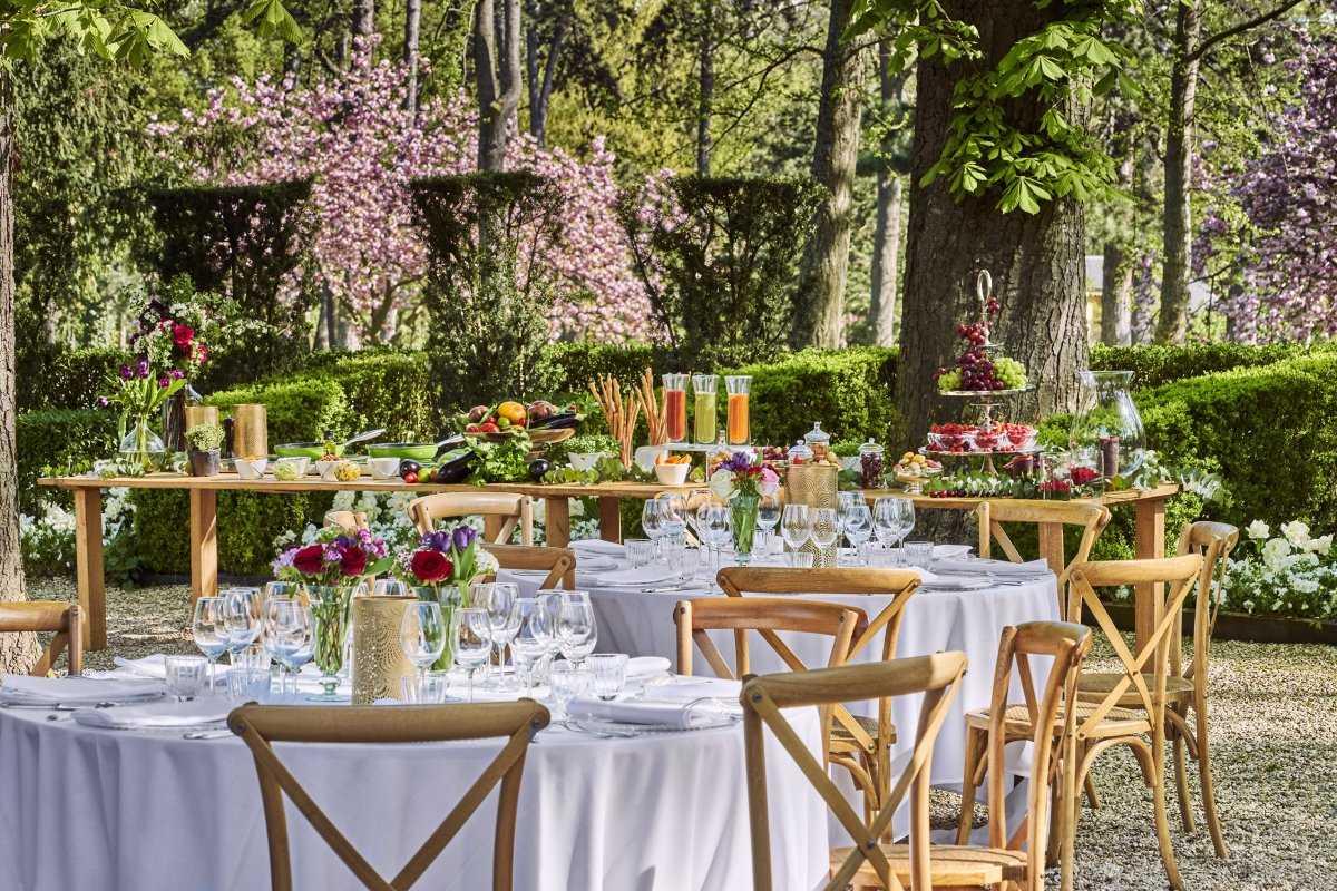 Garden party au Pré Catelan
