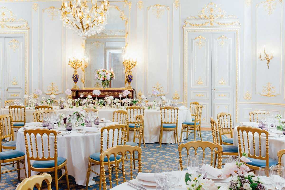 Salon grand salon + quadrille - banquet