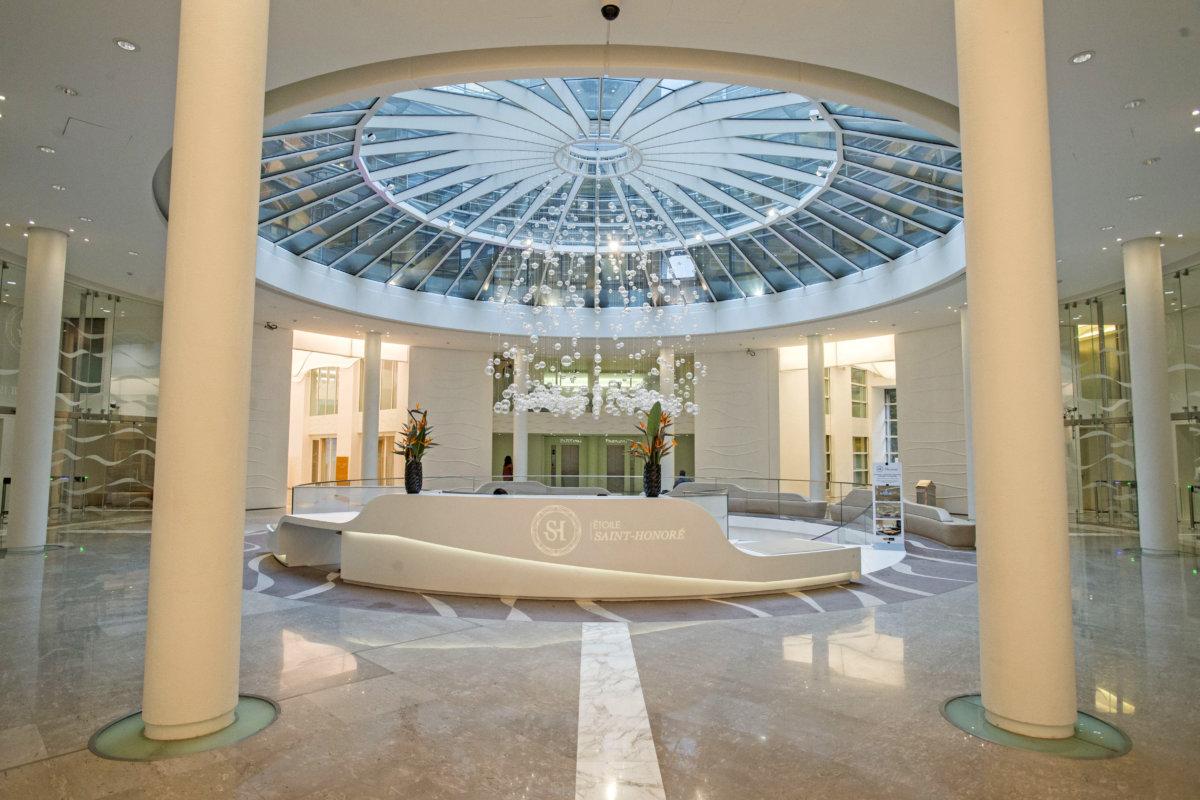 Atrium d'accueil